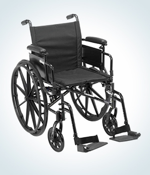 self-propelled standard manual wheelchair