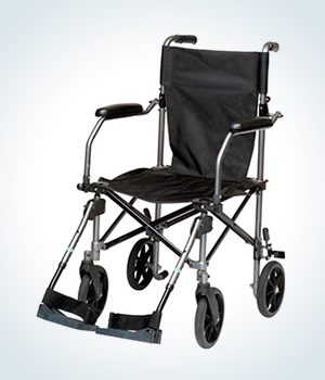 companion chair or attendant chair also known as transport wheelchair