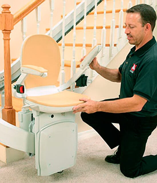 stair lift for mobility challenged